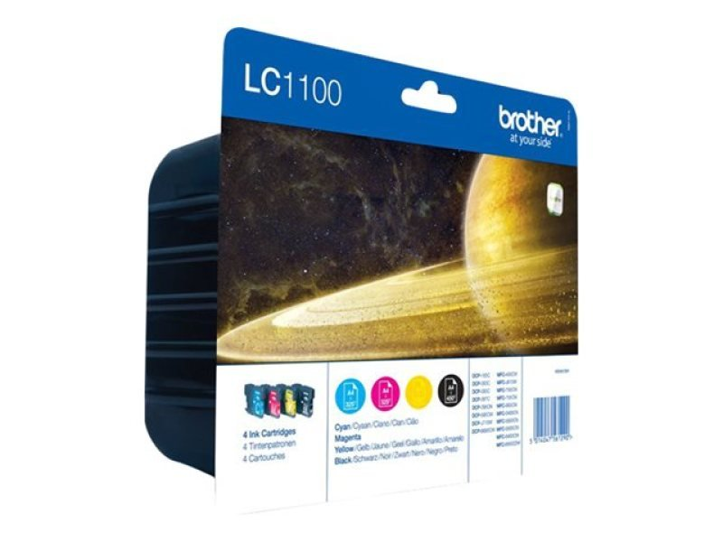 *Brother LC1100 Colour Value Pack