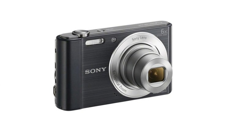 Sony DSC-W810 Digital Camera Black