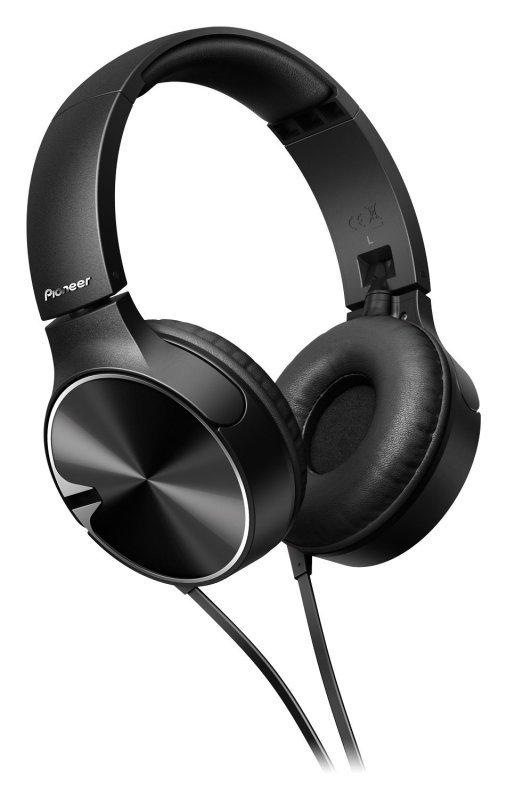 Pioneer SE-MJ722T-T Headphone with Microphone - Black