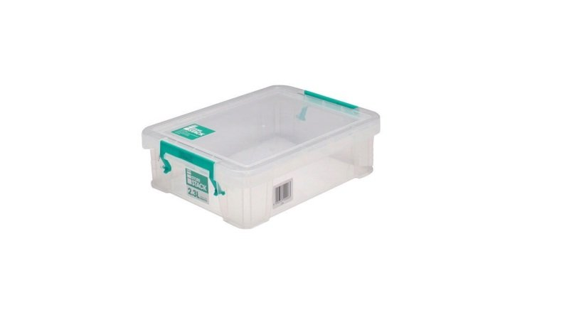 StoreStack 2.3 Litre Clear Stoarge Box