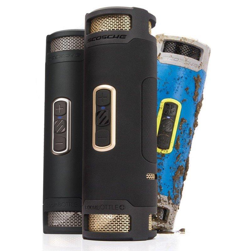 Scosche boomBOTTLE+ Waterproof Wireless Speaker - Blue