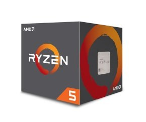 AMD Ryzen 5 1600 6 Core AM4 CPU/Processor with Wraith Spire 95W cooler