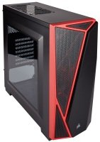 CORSAIR Carbide SPEC-04 Mid-Tower Gaming Case Red/Black