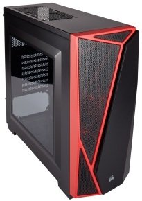 CORSAIR Carbide SPEC-04 Mid-Tower Gaming Case Red/Black