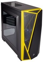 CORSAIR Carbide SPEC-04 Mid-Tower Gaming Case Yellow/Black