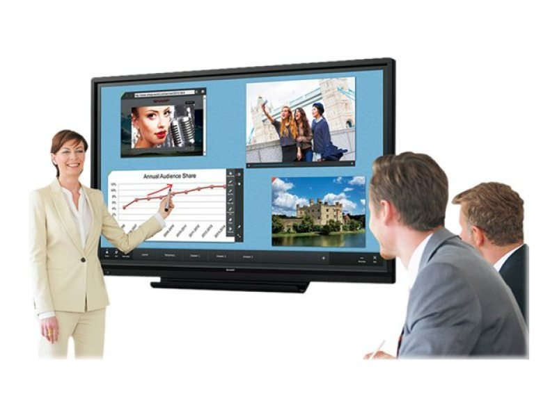 """Sharp PN-60TW3 60"""" Full HD Large Touch Display"""