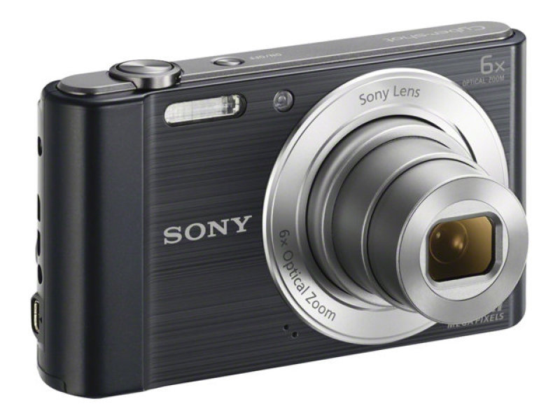 Sony DSCW810 20.1 Megapixel Compact Digital Camera - Black