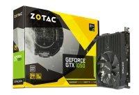 EXDISPLAY Zotac Geforce GTX 1050 Mini 2GB GDDR5 DVI-D HDMI DisplayPort PCI-E Graphics Card