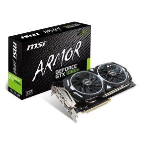 MSI GTX 1080 Ti ARMOR 11GB OC Graphics Card