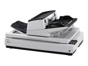 Fujitsu FI-7700 A3 Production Document Scanner. 100 ppm / 200 ipm @ 300dpi,  A4L ADF for up to 300 sheets @ 80g/m2, 20-413 g/m2, supports scanning A3 format document batches and folded A2/A1 document sheets, advanced picking mechanism with pressure contro