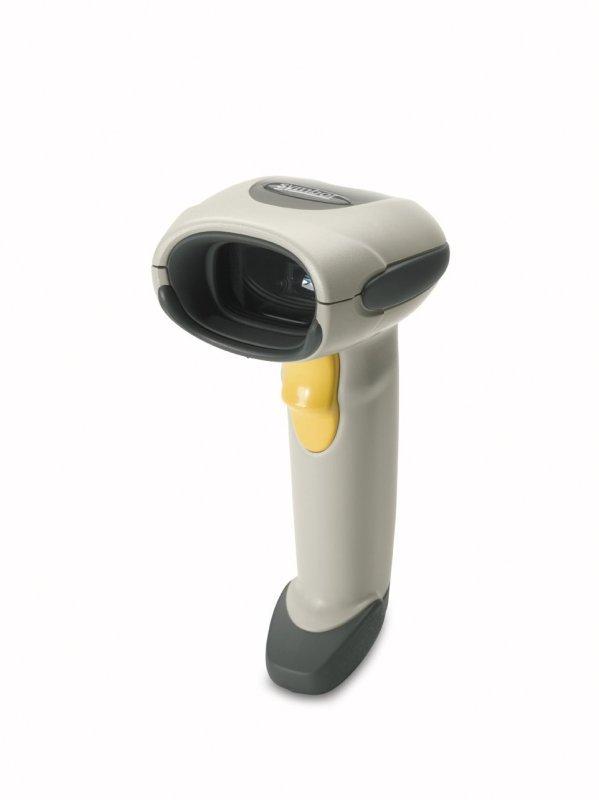 Zebra LS4208 Handheld Barcode Scanner White  USB Kit
