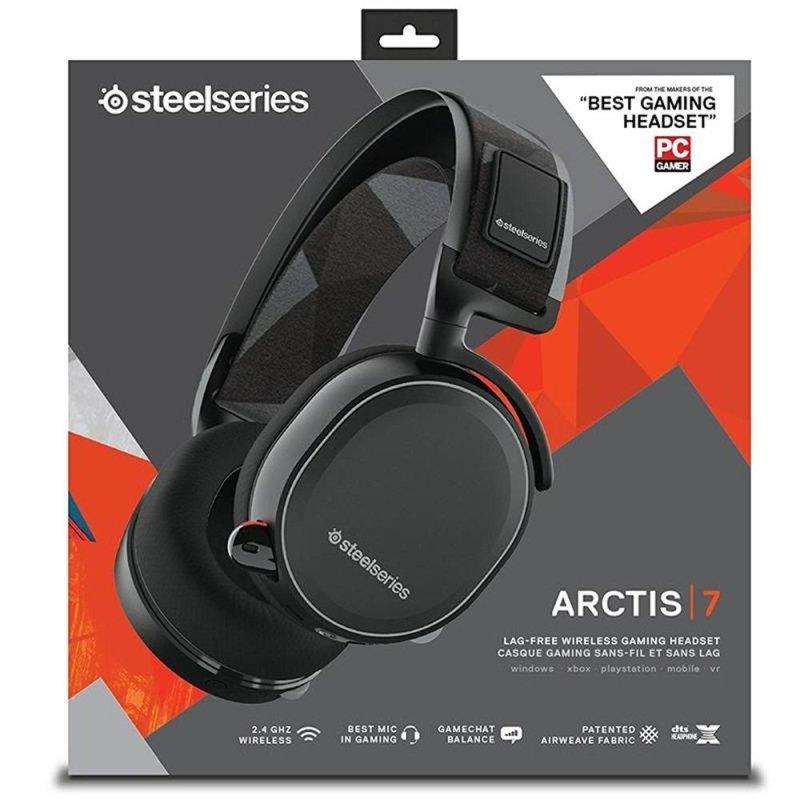 Steel Series Arctis 7 Gaming Headset Bluetooth