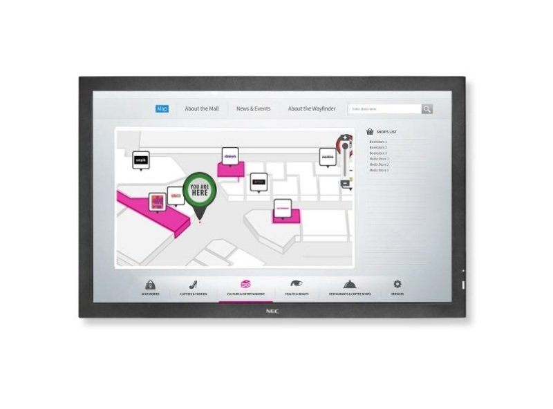 """NEC P463 LCD 46"""" Large Format Touch Display"""