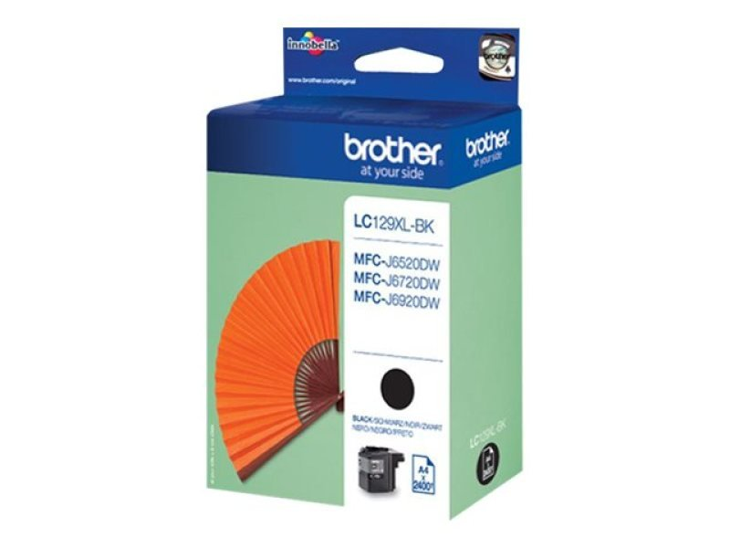 Brother LC129BK High Yield Black Ink Cartridge