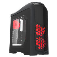Game Max Nexus Black Gaming Case 2x RGB Led Front Fans