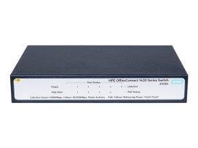 HPE OfficeConnect 1420 5G PoE+ 5 Port Unmanaged Switch