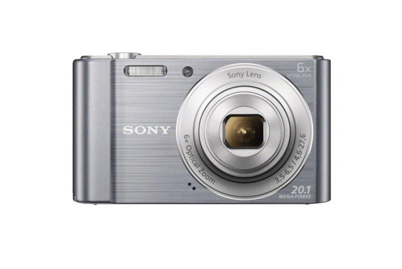 Sony DSC-W810S 20.1 Megapixel Compact Digital Camera - Silver