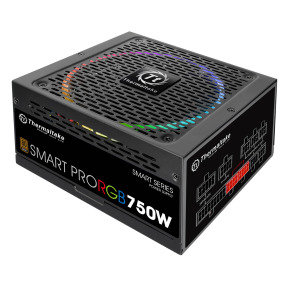Thermaltake Smart Pro 750W Fully Modular PSU - RGB Fan