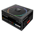 Thermaltake Smart Pro 850W Fully Modular PSU RGB Fan 80 Plus Bronze