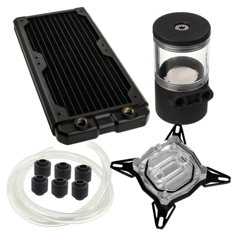 Black Ice 240GTS Professional Water Cooling Kit - INTEL