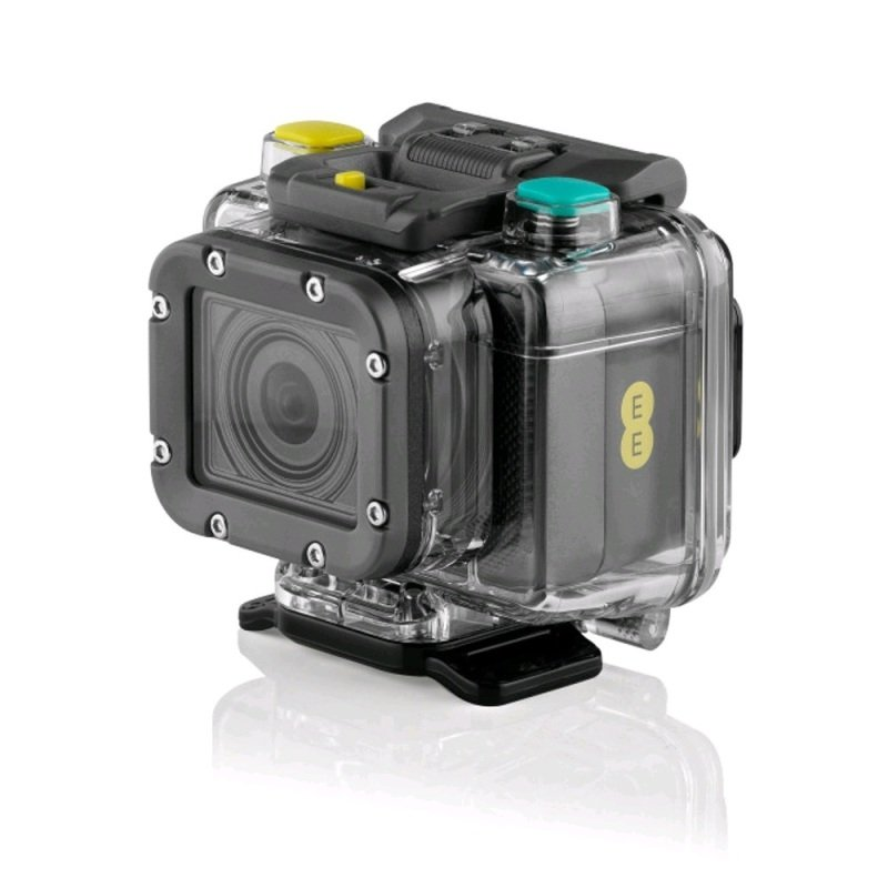 EE Action Cam with 2GB Data - Black
