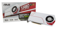 Asus NVIDIA GeForce GTX 1060 TURBO White 3GB GDDR5 VR Ready Graphics Card