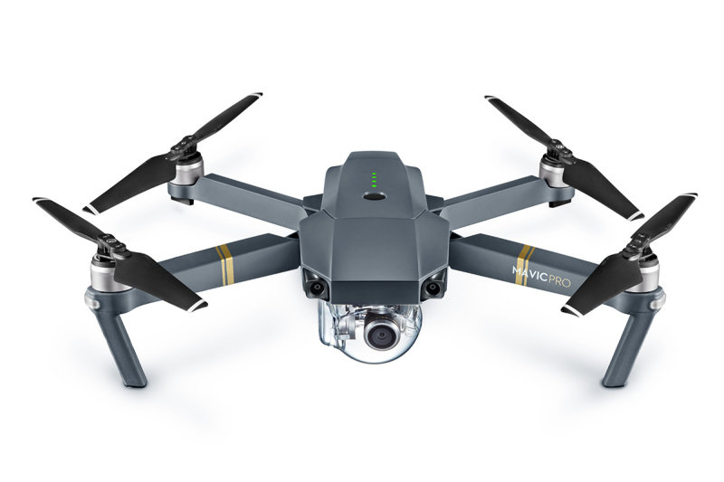 DJI Mavic Pro 4K Quadcopter Drone Fly More Combo