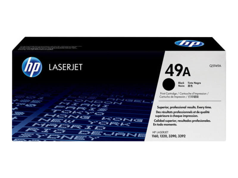 HP 49A Black Toner cartridge - Q5949A