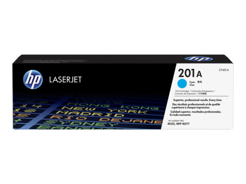HP 201A Cyan Toner Cartridge - CF401A