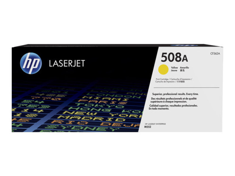 HP 508A Yellow Original Laserjet Toner Cartridge - CF362A