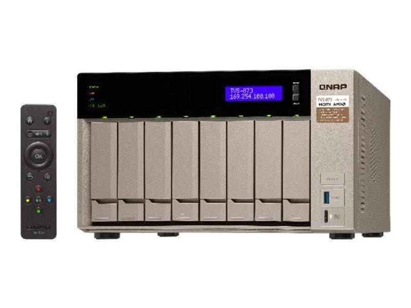 QNAP TVS-873-8G 64TB WD RED 8 Bay NAS