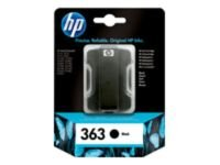 HP 363 Black Original Ink Cartridge - Standard Yield 410 Pages - C8721EE