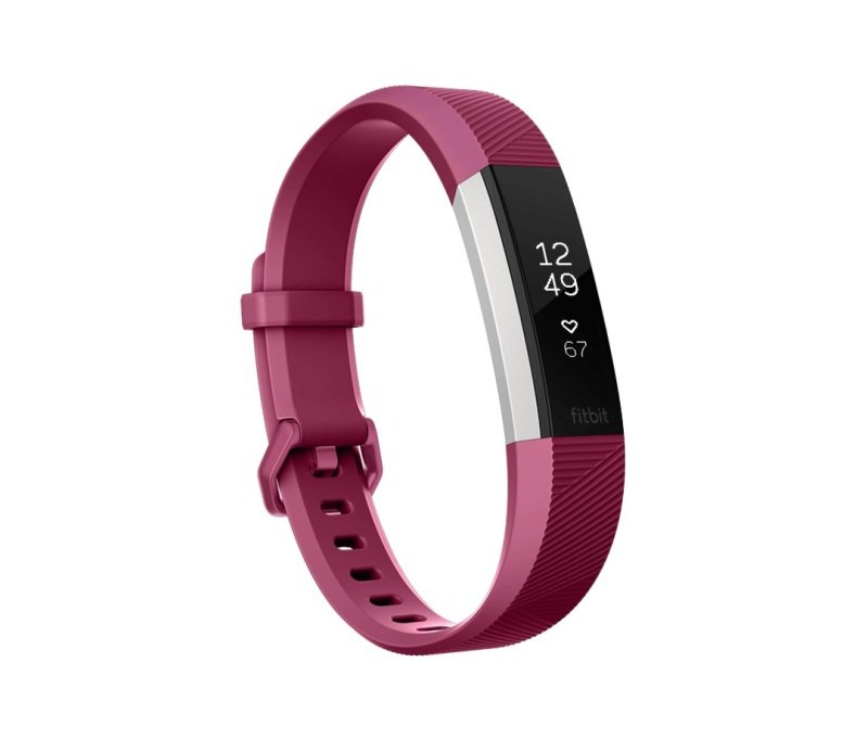 Fitbit Alta HR Heart Rate and Fitness Tracker, Small, Fushia