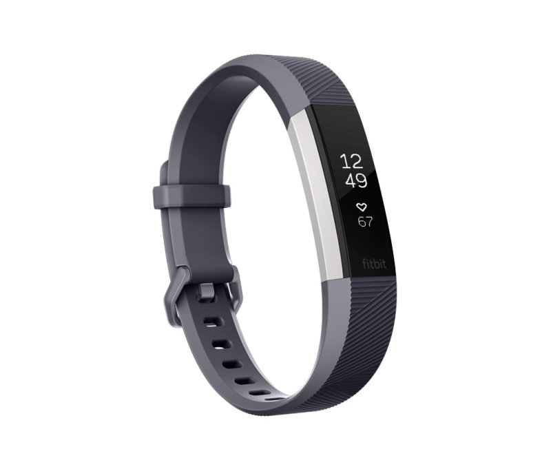 Fitbit Alta HR Heart Rate and Fitness Tracker, Small, Grey