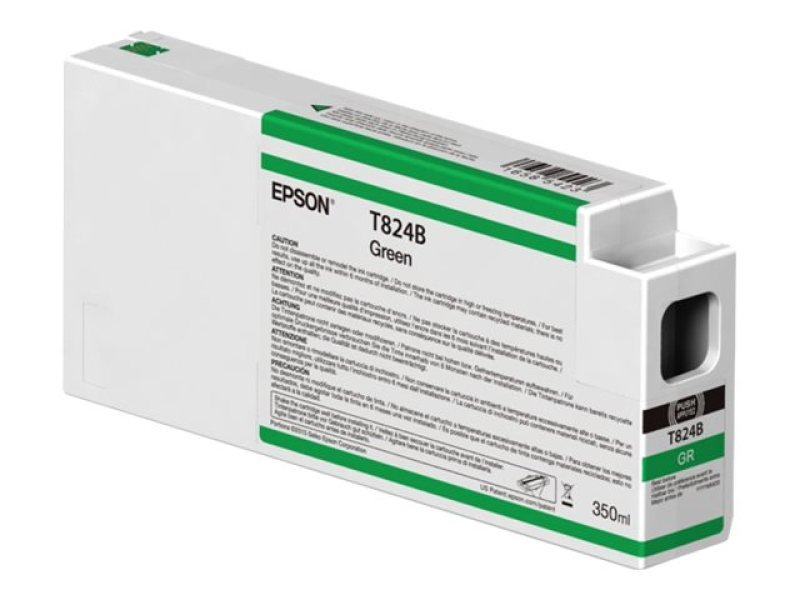 Epson T824B Green Ink Cartridge 350ml