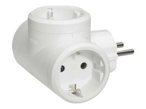 Cbl/Adaptor lateral 3x2P+T 10/16A White
