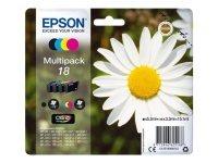 Epson 18 Ink C/M/Y/K 4 Pack