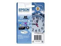 Epson 27XL Cyan Magenta Yellow Cartridge (Pack of 3)
