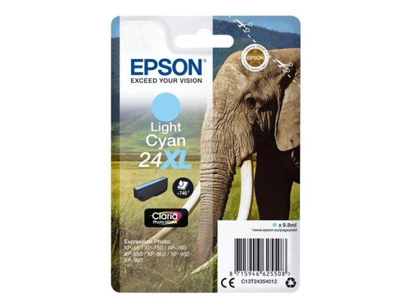 Epson 24XL Light Cyan Inkjet Cartridge