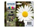 Epson Daisy 18XL Multi-Pack Ink Cartridges - Black, Cyan, Magenta, Yellow