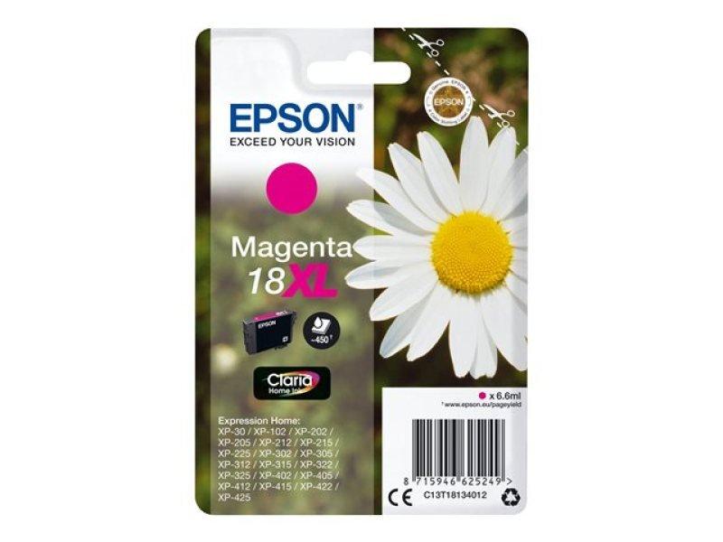 Epson 18XL Magenta Inkjet Cartridge