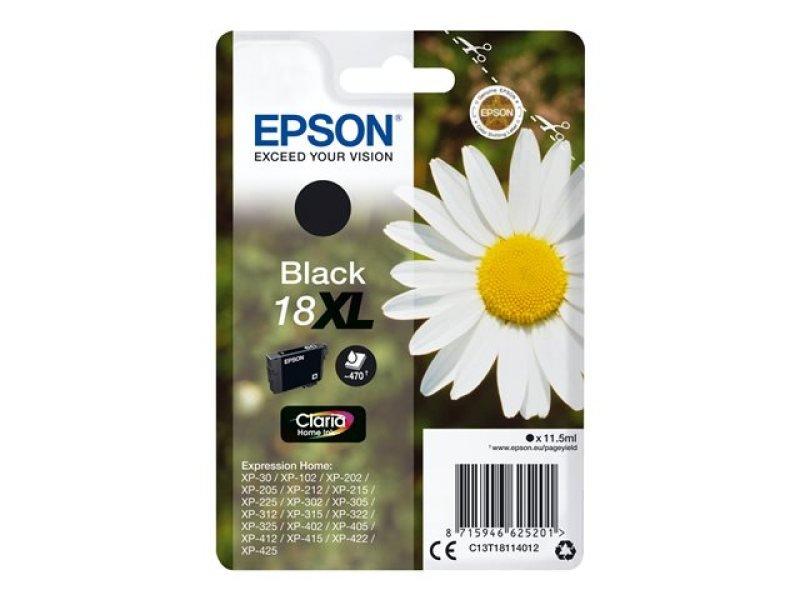 Epson 18XL Black Inkjet Cartridge