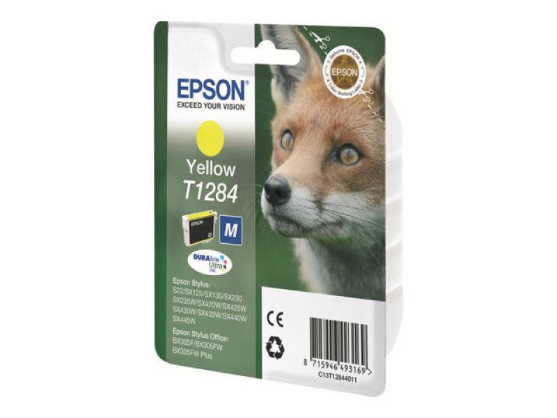 Epson T1284 Yellow Inkjet Cartridge