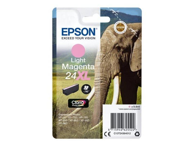Epson 24XL Light Magenta Inkjet Cartridge
