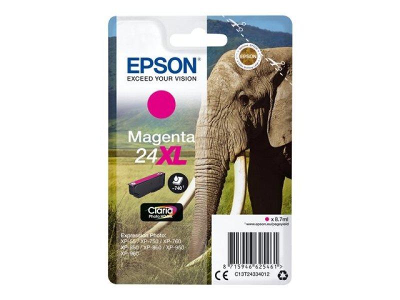 Epson 24XL Magenta Inkjet Cartridge