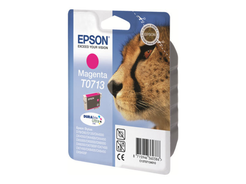 Epson T0713 Magenta Inkjet Cartridge