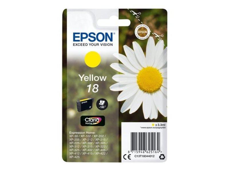 Epson 18 Yellow Inkjet Cartridge