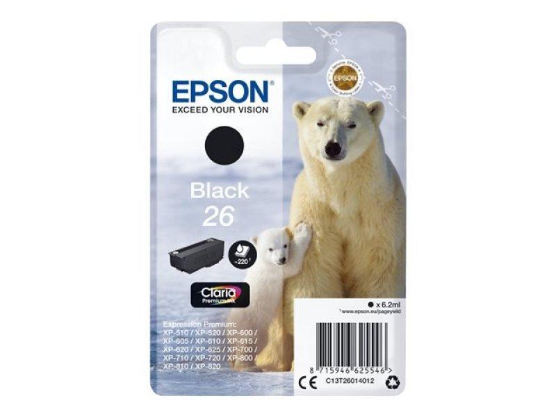 Epson 26 Black Inkjet Cartridge