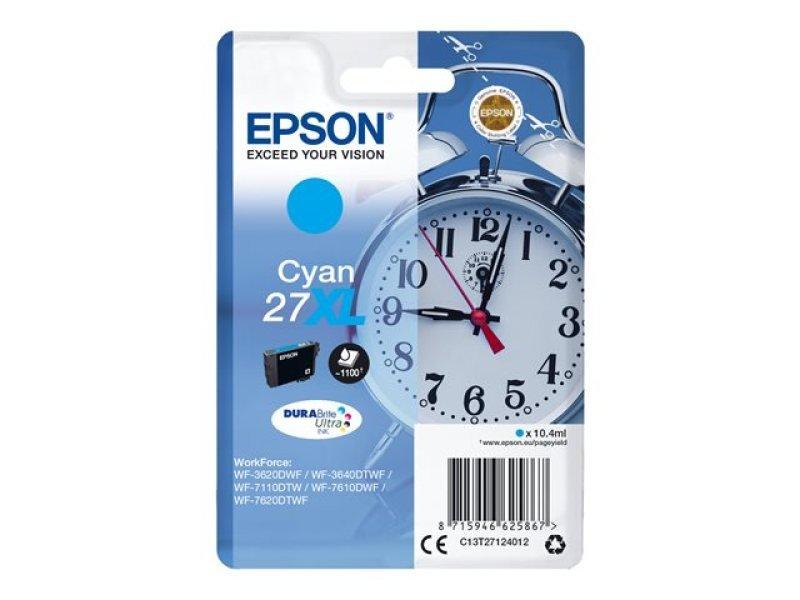 Epson 27XL Cyan Inkjet Cartridge