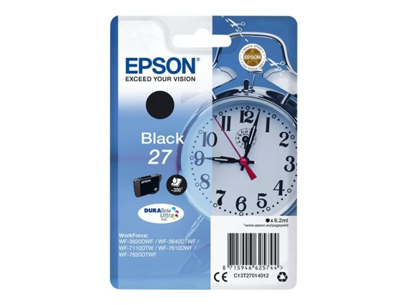 Epson 27 Black Inkjet Cartridge